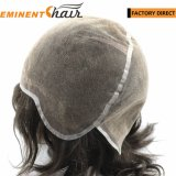 Natural Effect Indian Hair Men's Lace Wig