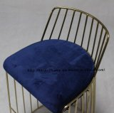 Metal Restaurant Outdoor Furniture Strings Wire Dining Bar Chairs