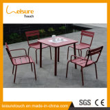 Simple Design Powder Coated Aluminum Leisure Coffee Table Set Garden Outdoor Cheap Furniture