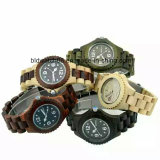 Best Waterproof Gents Wooden Watches Japan Movement