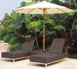 Modern Design Outdoor Rattan Furniture Sun Lounger