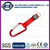 Factory Direct Mountaineering Logo Printed Titanium Carabiner Bulk with Keychain
