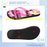 PE Slipper Flip Flops Promotional Cheap Lady Shoes