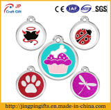 Custom China Supplier Metal Dog Tag and Soft Enamel Pet Name Tag in China