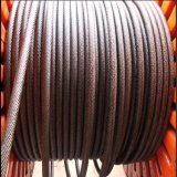 6*19 High Tension Trolley Galvanized Wire Rope for Tower Crane