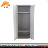 Metal Bedroom Closet Furniture 2 Door Steel Wardrobe