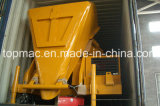 Self Loading Diesel Concrete Mixer with Hydraulic Hoist Hopper