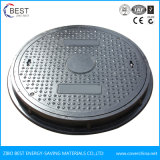 En124 Made in China Customized Green SMC Manhole Cover with Grate