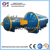 Industrial Hose Horizontal Vulcanizing Autoclave Tank for Rubber Products