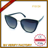 New Trend PC&Metal Sunglass, Hot Sells Eyeglass (F15124)