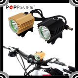 600lm LED with 4*18650 Battery Bicycle Front Light