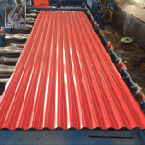 Rib Type Trapezoidal Colored Corrugated Roofing Metal Sheet