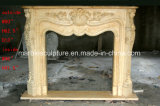Decoration Stone Sculpture Marble Fireplace Carving (SY-MF348)