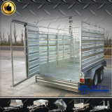 Cattle Crate Trailer with Safety Caravan (SWT-CCT126)