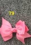 Bowknot Fashion Decorative Metal Silver Hairpins for Children 79