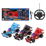 Chargeable Remote Radio Control R/C Stunt Racer Car 1: 14 Scale with 3D Light & Music