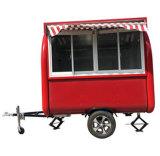 Street Fast Food Ice Cream Vending Carts Food Trucks Mobile Kitchen Trailer/ Kiosk Electric Hotdog Food Car