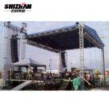 4 Pillars V Shape Roofing Truss System for Show, Stage, Lighting Exhibition Lighting Truss