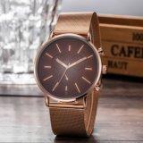 Custom Logo Watches Quartz Stainless Steel Watch (WY-G17016B)