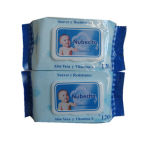 Cheap Baby Products Aloe Vera Baby Skin Care Cleaning Wet Tissue, Moist Wet Wipe From Factory