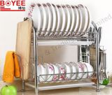 Kitchen Dish Rack Made of Stainless Steel