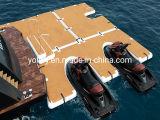 E-Shaped Watercraft Inflatable Jet Ski Floating Dock for Marinas