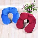 Wholesale Soft Inflatable Neck Pillow Washable Portable Air Travel Pillow