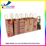 Wholese Cheap Paper Packaging Bag Printing Luxury Shopping Folding Gift Bag for Clothing Food Packing