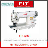 High Speed Lockstitch Sewing Machine with Cutter 5200