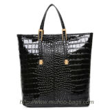 High Quality Snake Leather Handbag for Lady (MH-6029)
