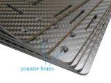 RC Racing Parts Carbon Fiber Sheet Parts CNC Cutting Carbon Sheet 1.5mm 2mm 2.5mm
