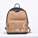 2017 Korean Style High Quality PU Leather Waterproof Backpack Satchel Bag Shoulder School Children Backpack