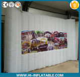 Colorful Lighting Advertising Inflatable Photo Booth Wall