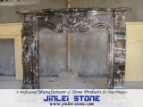 Various Natural Stone Marble Sculpture Caving Fireplace