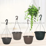 Cheap Wholesale High Quality Various Sizes Hanging Basket Flower Pot Garden Planter Plant Pot with Manufacturer Price