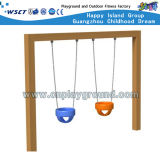 Careful Outdoor Playground Baby Swing Set with CE (HD-SW-W004)