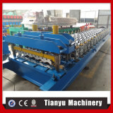 High Speed Full Automatic Step Tile Roll Forming Machine
