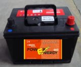 N48mf 12V48ahjis Standard Maintenance Free Lead Acid Car Battery