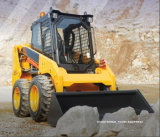 Top Quality Skid Wheel Loader of 375A with Road Sweeper