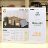 Customized Design DIY Paper Gift Box Kit