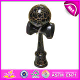 Unique Kendama Balls Maker for Kids, Funny Cheap Wooden Balls Kendama for Wholesale W01A030