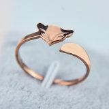 2017 Fashion Classic Fox 18K Plating Rose Ring Jewelry
