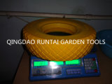 The Yellow Color Beauty Durable PU Rubber Wheel (480/400-8)