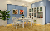 Rattan Dining Table and Chairs Rattan Furniture for Dining Room (zp-001)