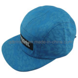 Flat Bill Print Webbing Snap Buckle Leisure Camp Cap (TMFL00520-1)