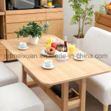 Solid Wooden Dining Table Living Room Furniture (M-X2391)
