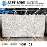 Thickness 20mm Quartz Slabs with Marble Vein Color for Countertop