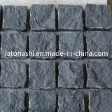 Design Black Basalt Paving Cobble Stone for Landscaping / Patio / Driveway