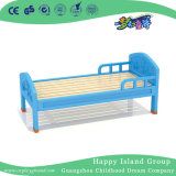 Natural and Rustic Wooden Toddler School Bed on Wall (HG-6402)