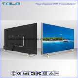 Narrow Bezel Ultra Slim 55 Inch UHD 4K High Contrast LED TV DVB-T T2